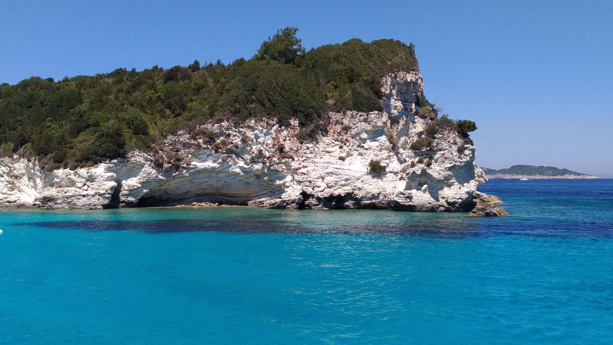 Ионическое море вокруг Корфу