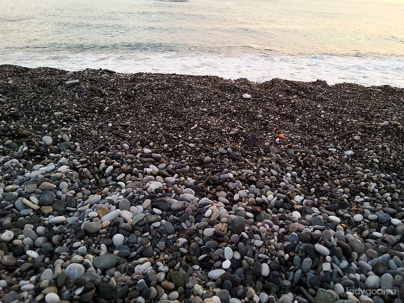 Черное море у Гагры