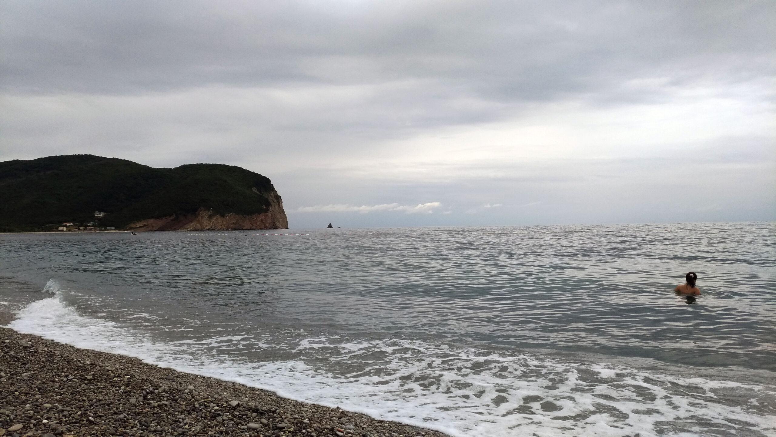 Черногория море