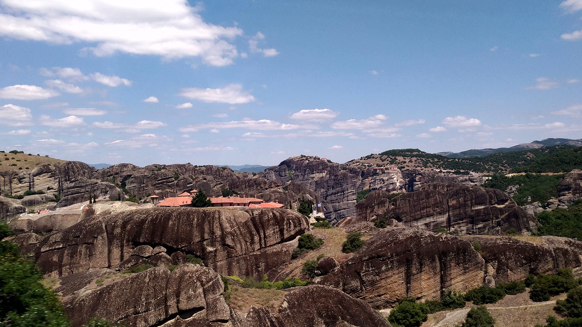 Монастыри Метеоры. Греция