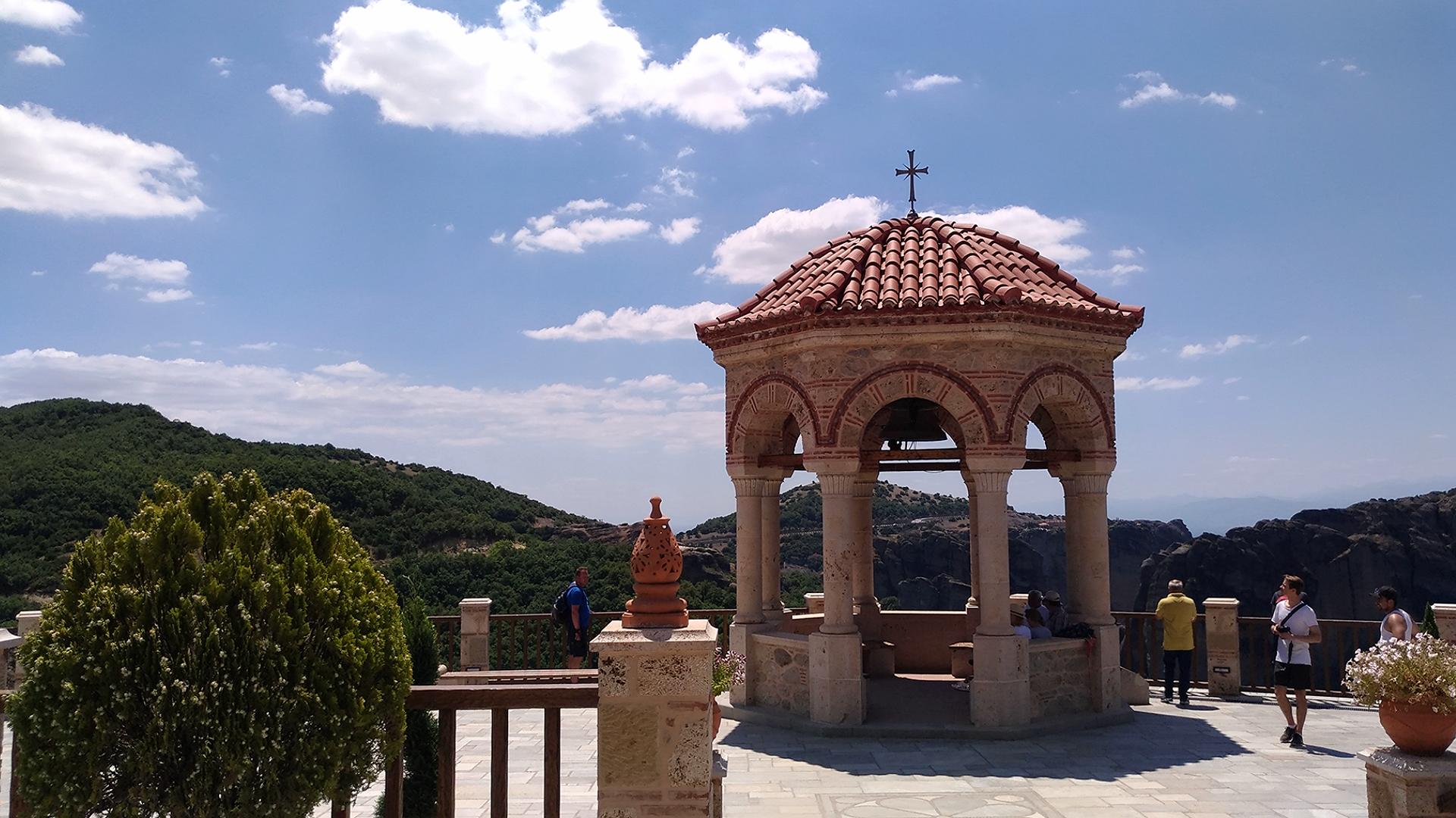 Метеоры. Греция. Монастыри