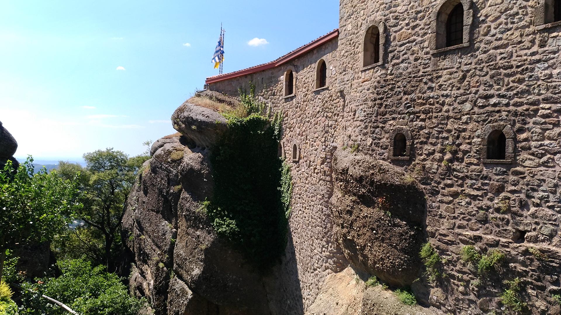 Монастырский комплекс в Метеорах