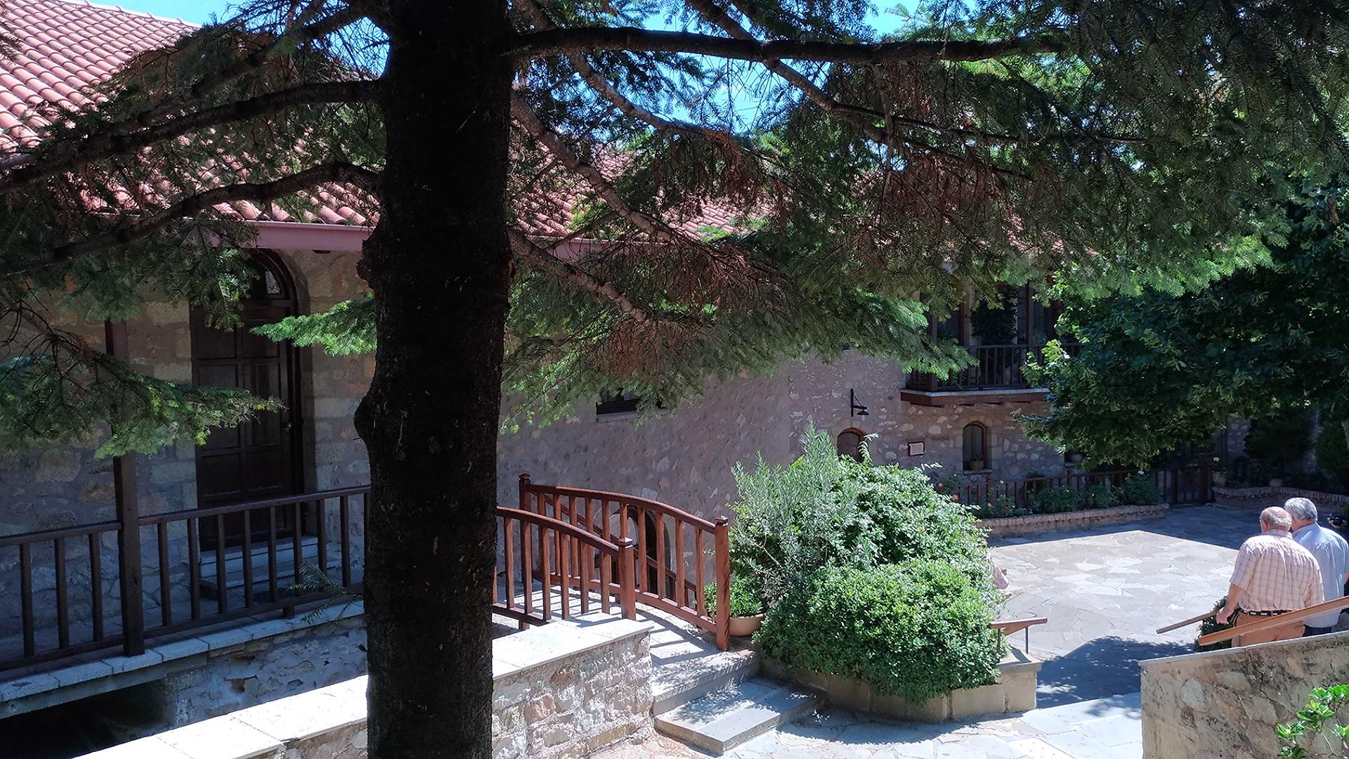 Святые места в Греции. Метеоры