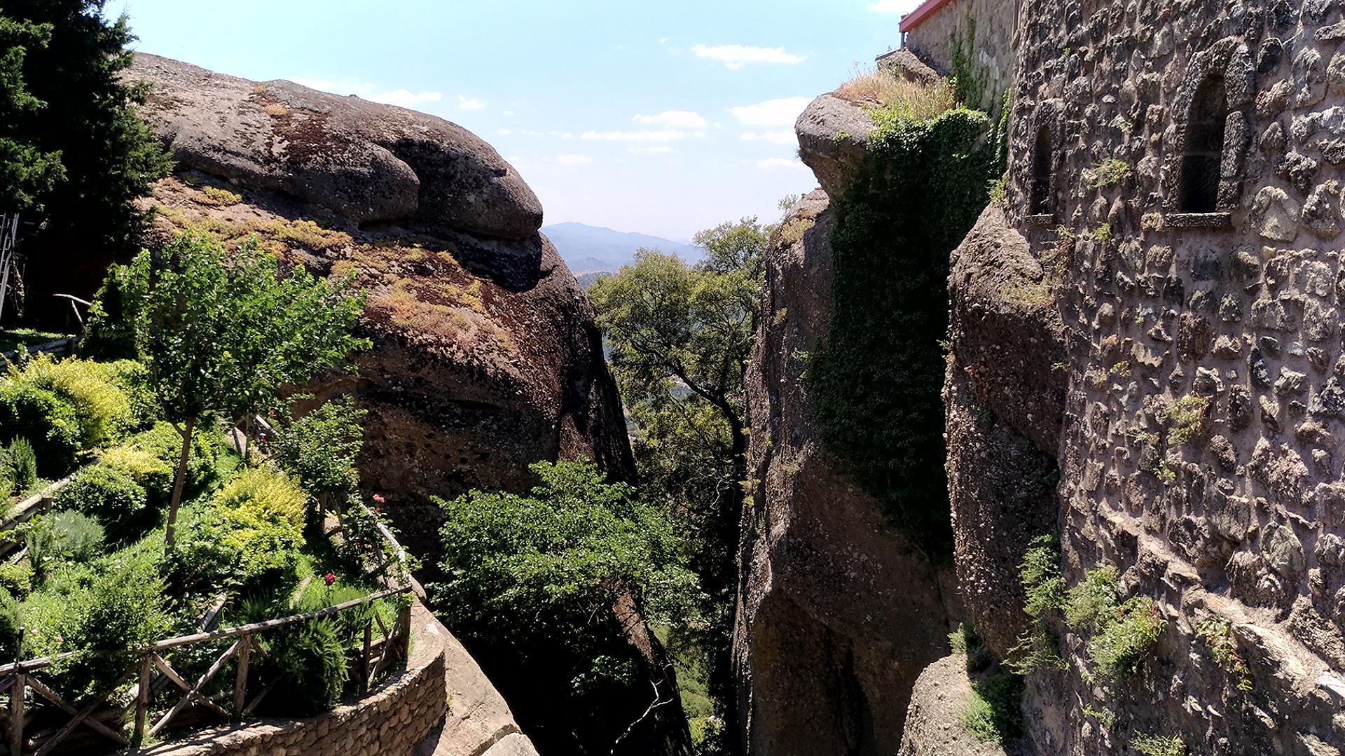 Монастыри в Метеорах. Греция