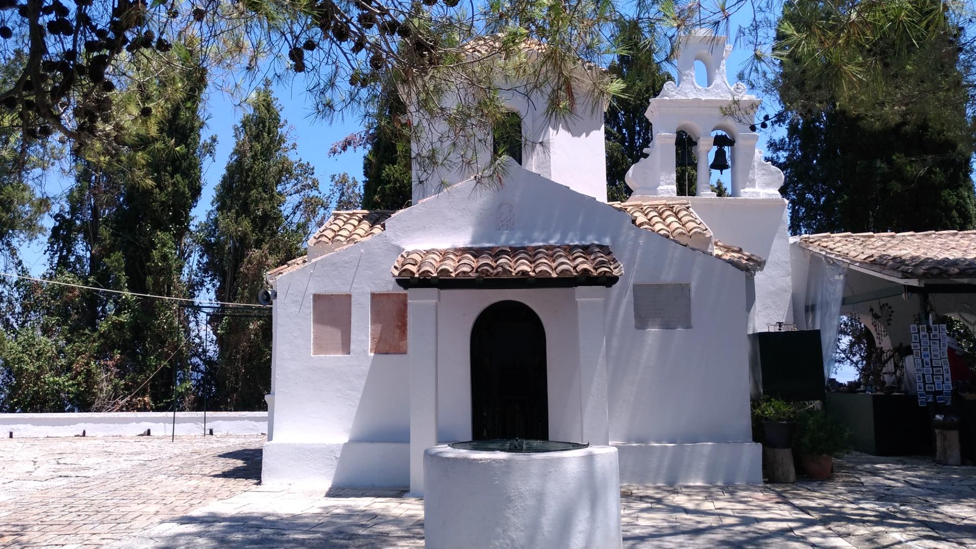 Церковь Иисуса Пантократора. Остров Корфу