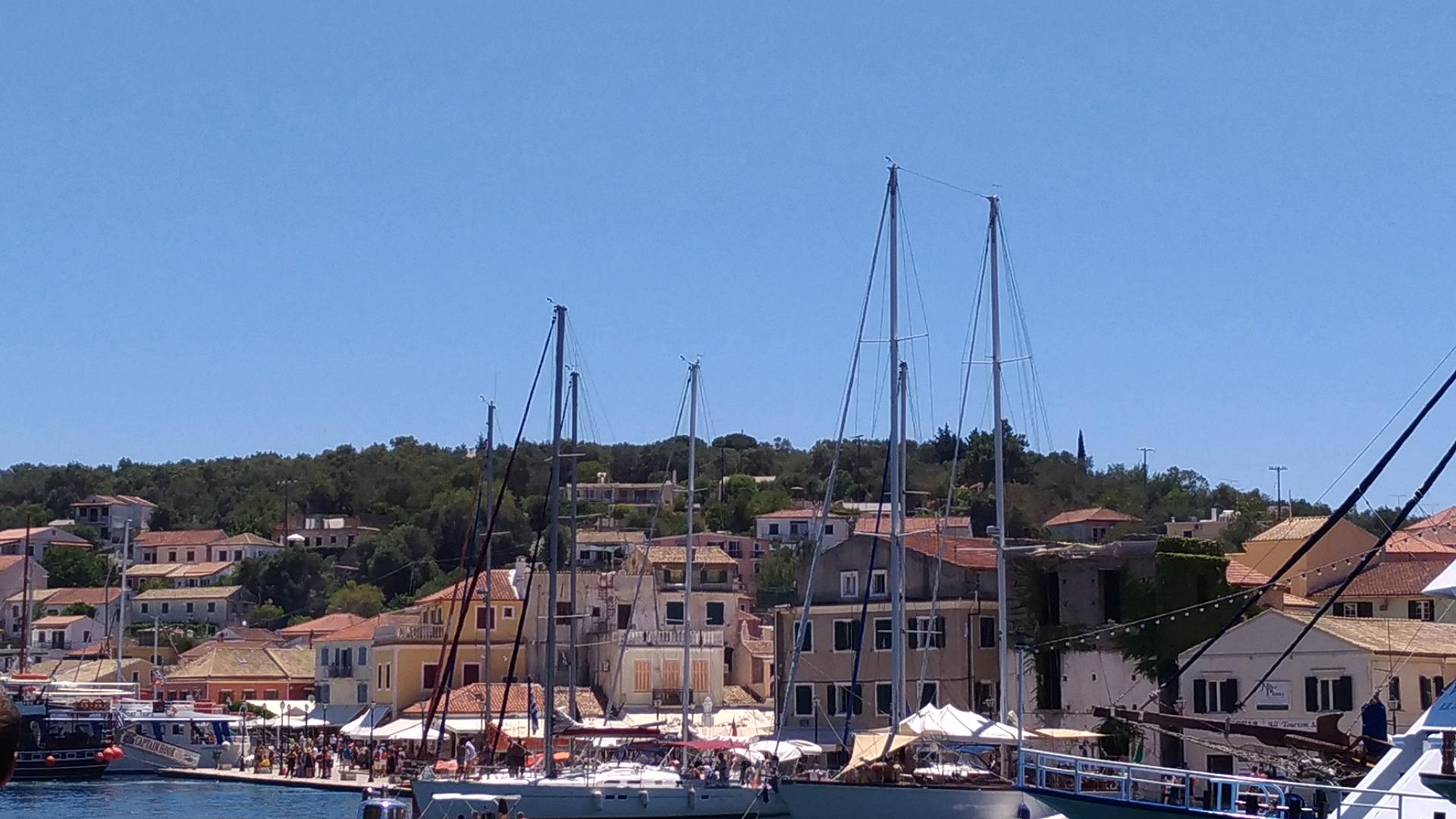 Острова Греции. Паксос. Отдых на Корфу