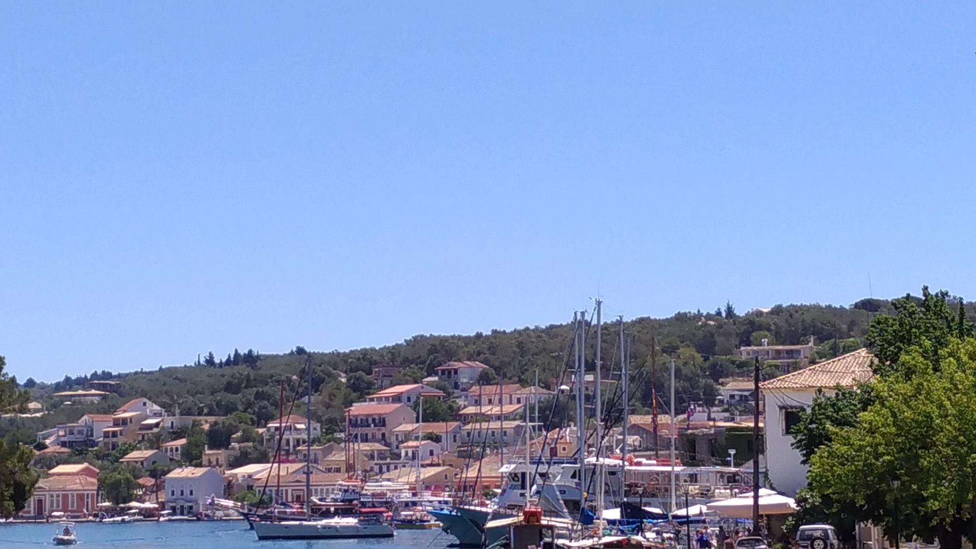 Паксос и Гайос. Отдых в Греции