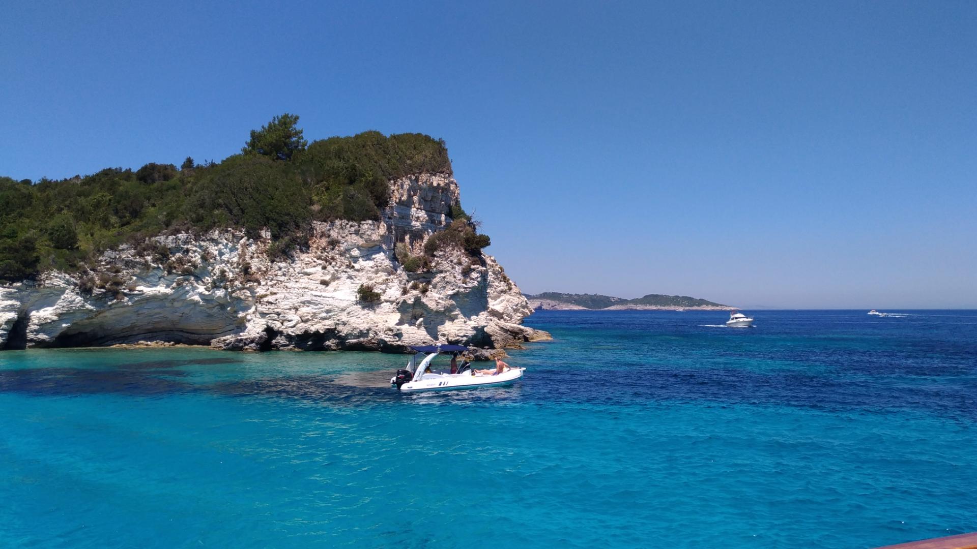 Антипаксос. Остров. Греция. Ионические острова