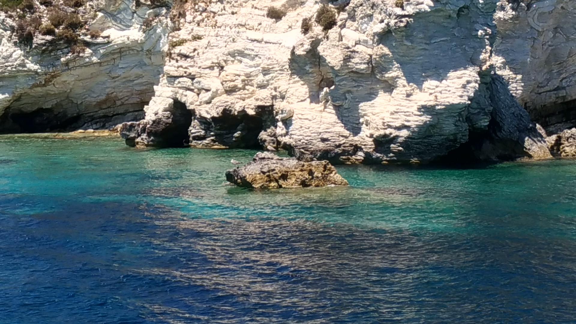 Остров Антипаксос. Отдых в Греции