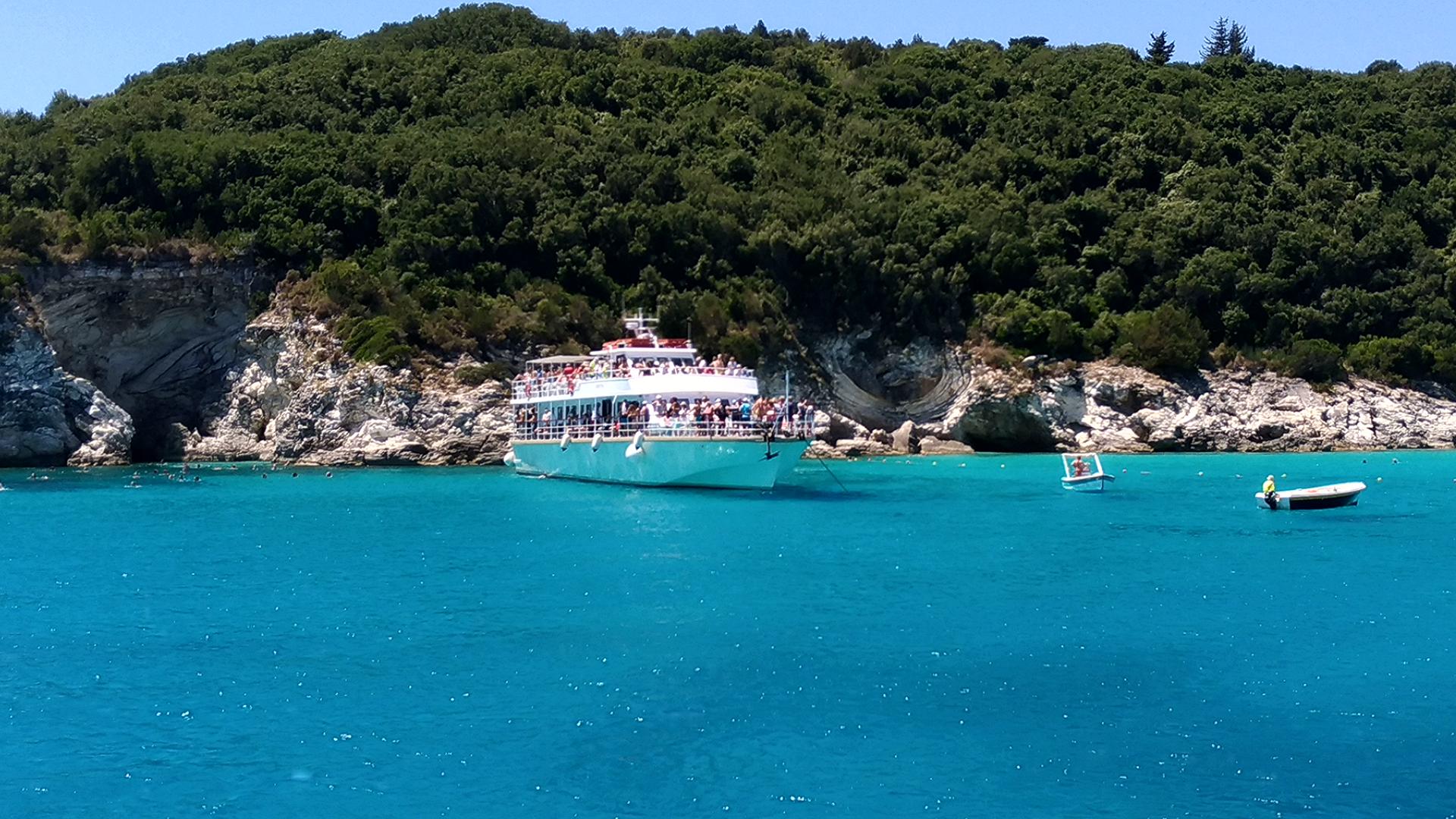 Отдых в Греции. Фото. Остров Антипаксос