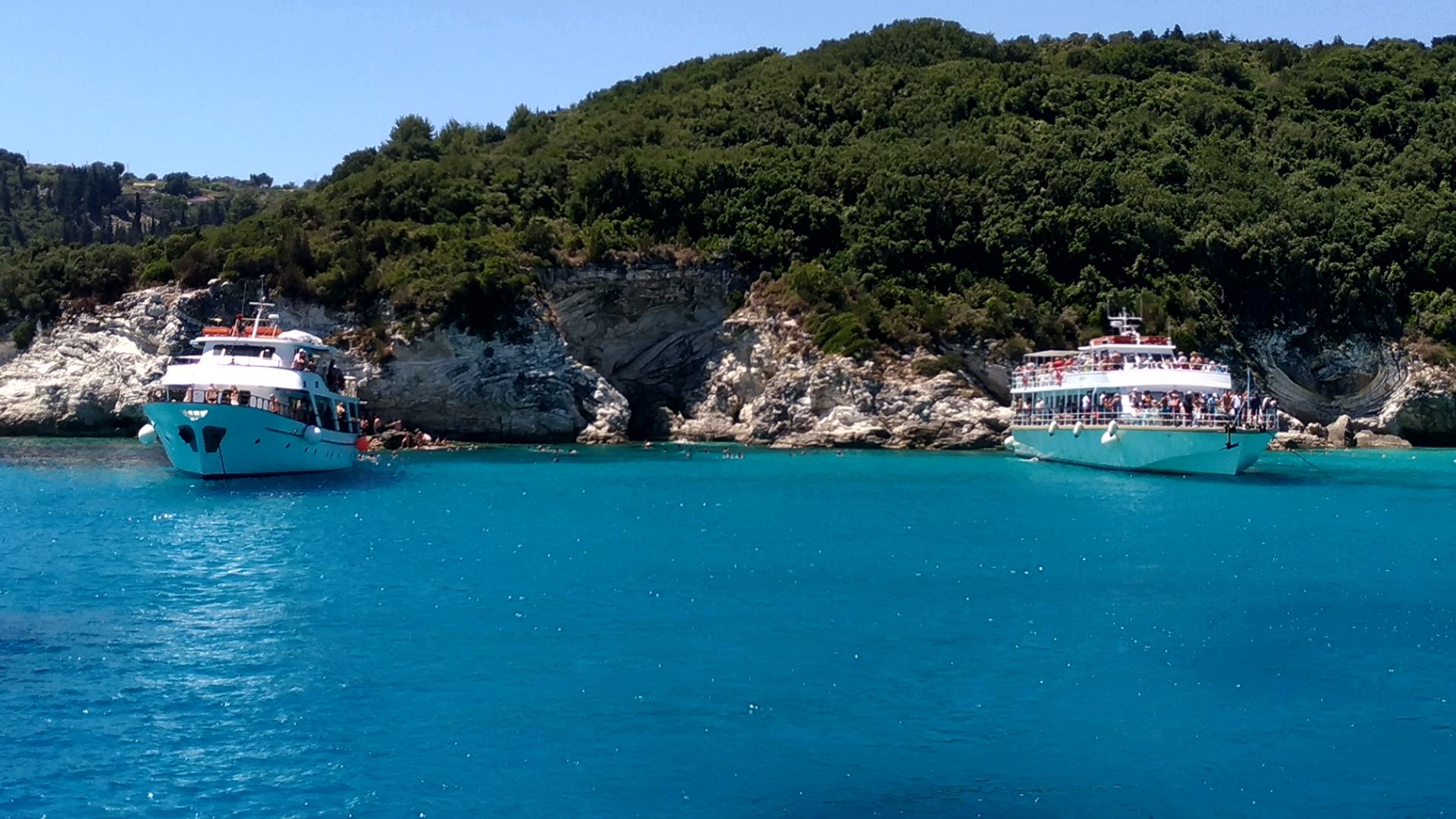 Антипаксос. Греция. Отдых на Корфу