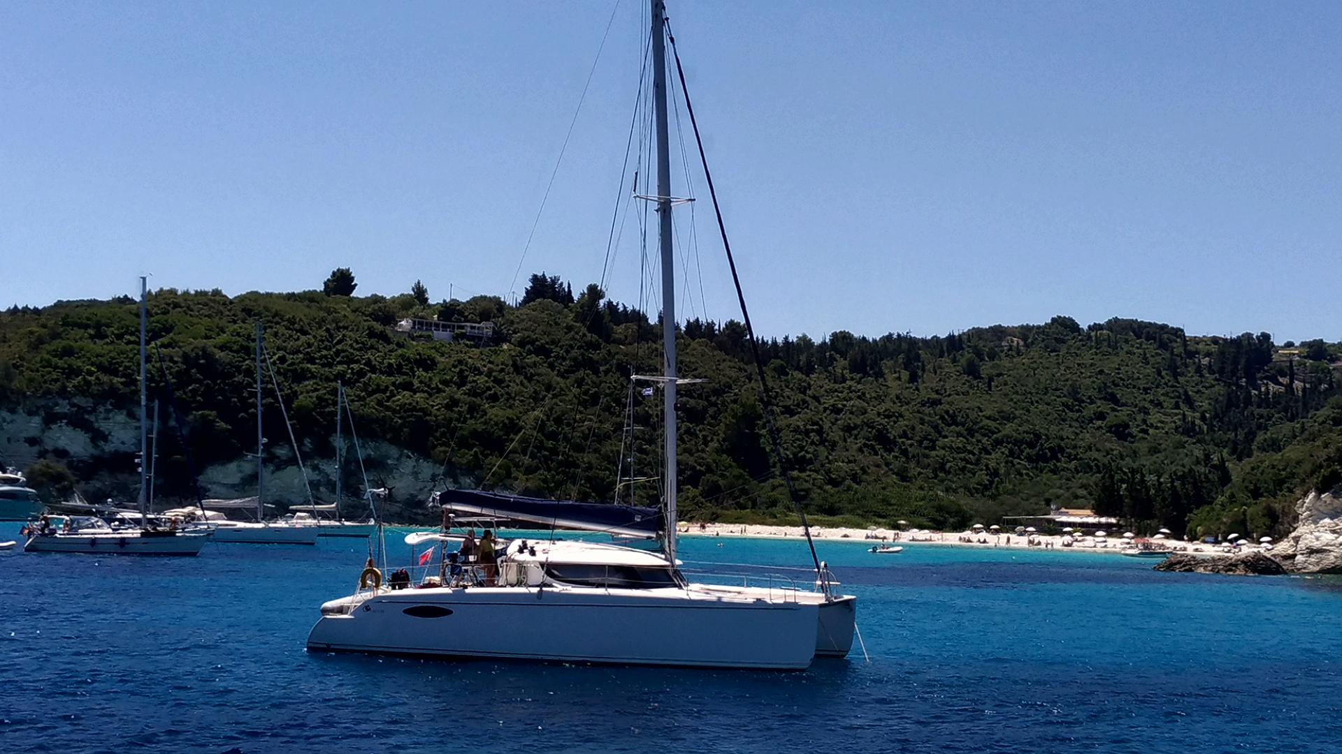 Путешествие на остров Паксос. Греция