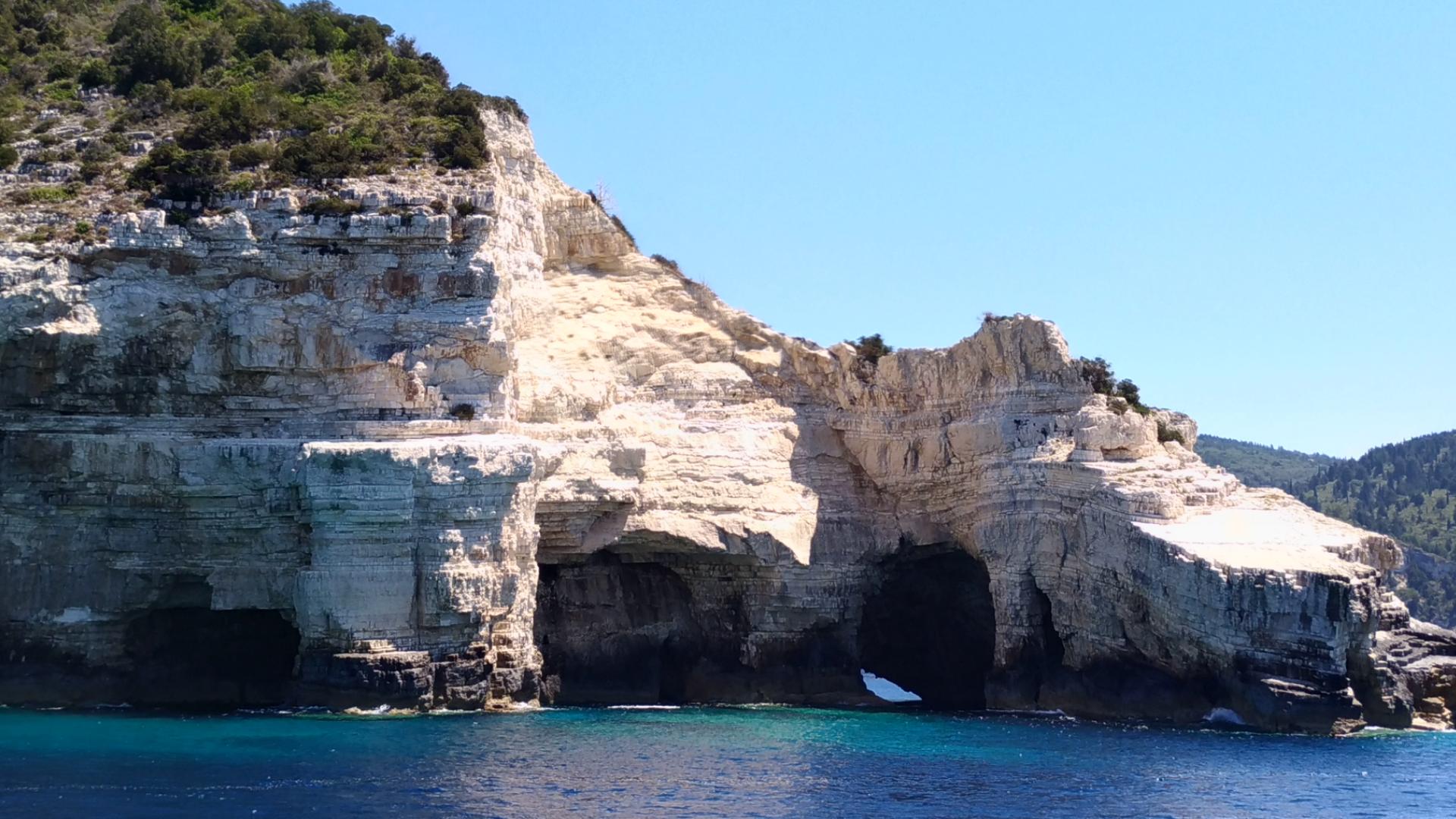 Остров Антипаксос. Греция. Корфу