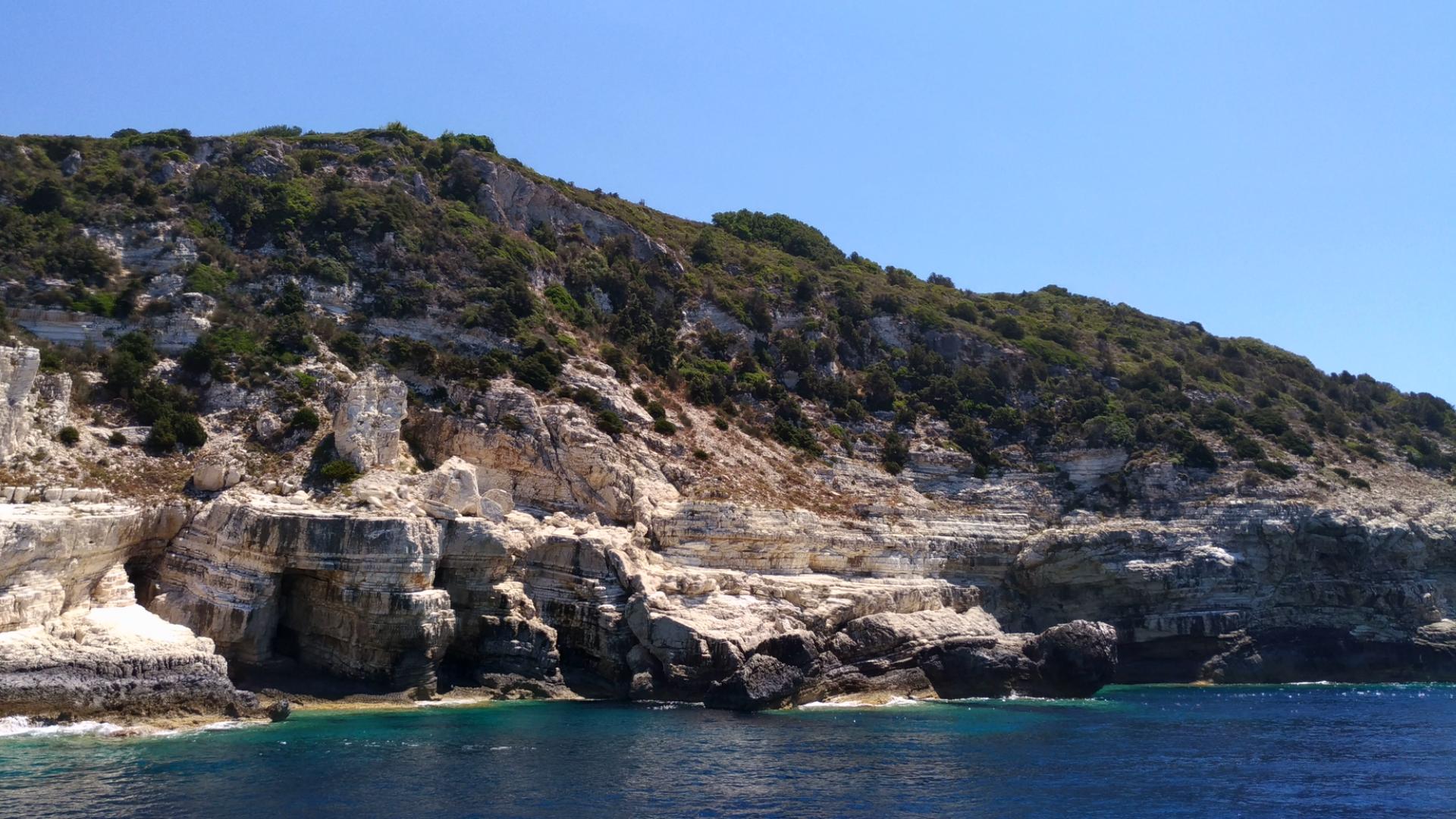 Острова Паксос и Антипаксос. Греция