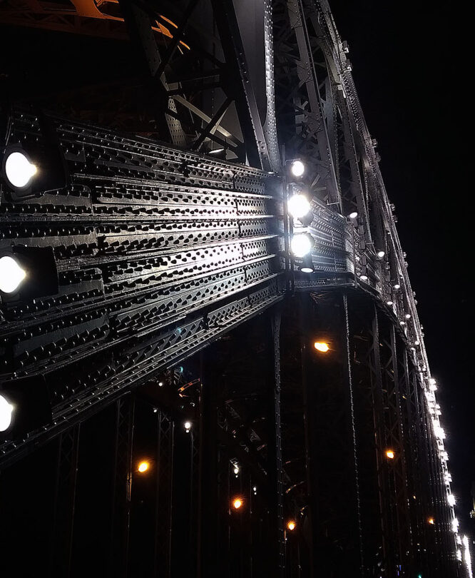 Большеохтинский мост. Петербург