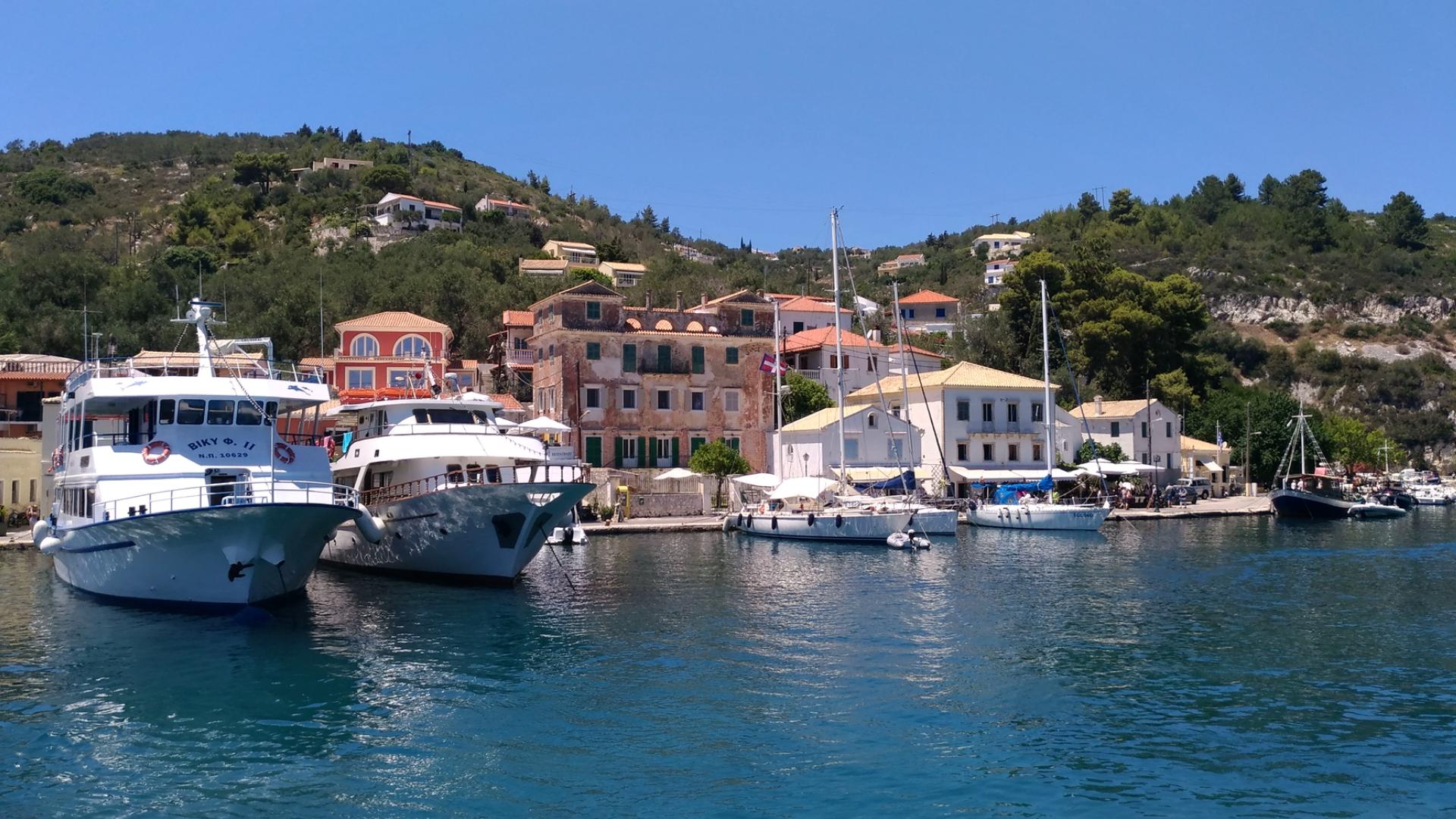 Паксос. Остров. Фотографии Греции.