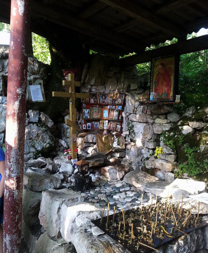 Святой Василиск. Абхазия